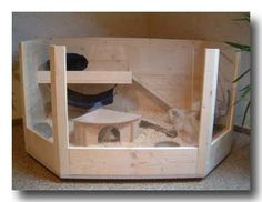 modell luxus k fig bauplan f r eine top behausung f r meerschweinchen xoppla schweinis. Black Bedroom Furniture Sets. Home Design Ideas