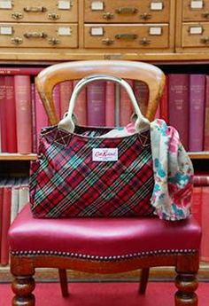 Cath Kidston bright tartan bag.. . . .I like this
