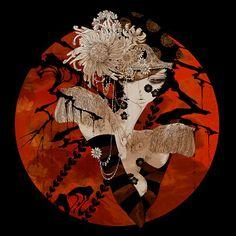 Aya Kato's Art - Cheval Noir ~ Blog of an Art Admirer