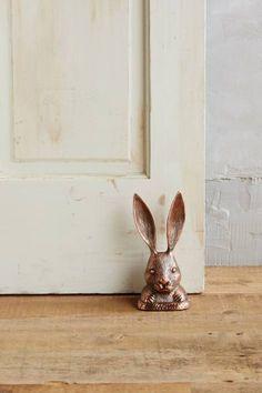 Rabbit Ears Doorstop