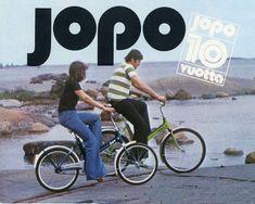 Jopo-polkupyörä (1965), Helkama #polkupyörät #jopo #helkama #suomalainenmuotoilu #finnishdesign #bicycles