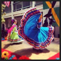 Mexican folk dancing at Monterey's La Merienda www.instagram.com/cityofmonterey