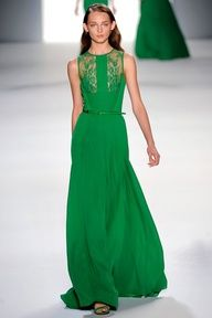 Kleid Standesamt Green With Envy - Elie Saab -