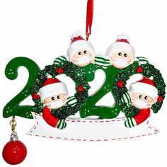 Christmas DIY Family Portrait Ornament - Family 4 / Buy 2 Get 1 Free (3Pcs)