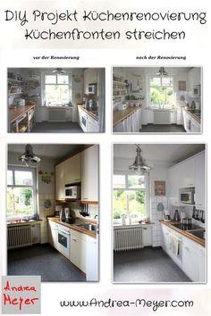 Entzuckend DIY   Projekt Küchenrenovierung: Küchenfronten Streichen