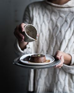 Guilty pleasures. Cold means cravings and cravings means chocolate! Autumnal puddings for your coffee break