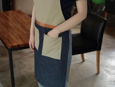 Premium Gift for woman and man Chef Works Handmade by Cozymomdeco Canvas Leather, Cow Leather, Leather Apron, One Size Fits All, Gifts For Women, Beige, Beautiful, Denim, Stylish