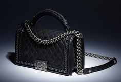 Read- LL Arm candy of the week  Chanel Boy Bag with Handle on Luxurylaunches b4d15d55cb779