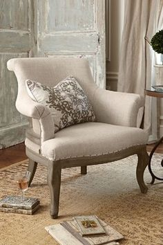 Sainte Agnes Lounge Chair - modern - Armchairs And Accent Chairs - St Louis - Soft Surroundings