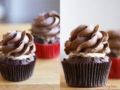 Mimi's Fairy Cakes: Anti-Herbstblues-Schoki-Marzipan-Cupcakes