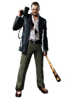 View an image titled 'Frank West Art' in our Dead Rising art gallery featuring official character designs, concept art, and promo pictures. Zombie Apocalypse Party, Post Apocalypse, Doom Demons, Apocalypse Character, Dead Rising, Best Zombie, Dead Space, Game Concept Art, Video Game Characters