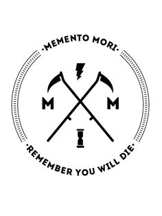 """Memento Mori"" Stickers by Castropheonix 
