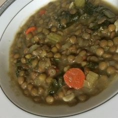 "Amazing Lentils and Kale | ""This is so easy to make, inexpensive, healthy, and delicious!"""