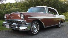1956 Chevrolet Bel Air 4 Dr Sport Coupe
