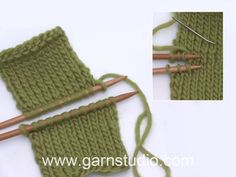 How to do Kitchener stitches / grafting / weaving Usynlig sammen syning med maskestingIn this DROPS video we show how to sew two parts together with an invisible seam, also known as Kitchener stitch (aka grafting, aka weaving). Baby Knitting Patterns, Baby Hats Knitting, Knitting Socks, Hand Knitting, Crochet Patterns, Knit Slippers Free Pattern, Knitting Help, Drops Design, Weaving