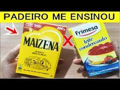 Receitinha Que Derrete Na Boca! - YouTube Biscotti, Snack Recipes, Snacks, Pop Tarts, Sweet Tooth, Brunch, Tasty, Make It Yourself, Breakfast