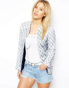ASOS | Jacket In Summer Paisley Print #asos #jacket