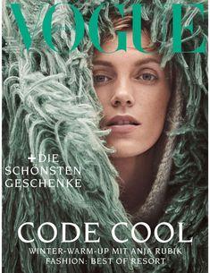 Anna Ewers, Daniel Jackson, Grace Elizabeth, Vogue Magazine Covers, Vogue Covers, Anja Rubik, Cool Winter, Winter Looks, Patrick Demarchelier