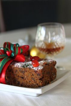 Moist Christmas Fruit Cake - can't wait to make it, I love fruit cake!