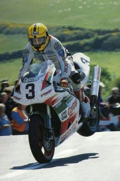 Joey Dunlop (Honda RC45 750 RVF) Isla de Man.