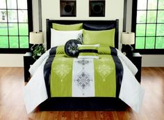 Queen Simone Comforter Bedding  #kirklands #pinitpretty