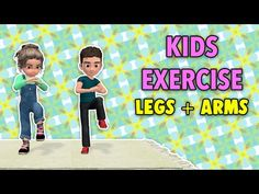 Kids Discover Legs + Arms Kids Exercise At Home Physical Activities For Kids, Physical Education Lessons, Motor Activities, Dementia Activities, Health Education, Yoga For Kids, Exercise For Kids, Fitness Games For Kids, Zumba Kids