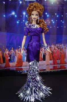 OOAK Barbie NiniMomo's Miss Belarus 2011