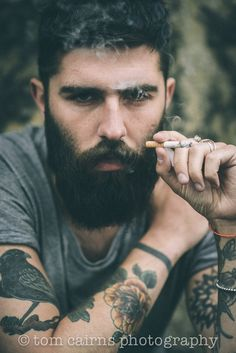 The beard, the eyes, the tattoos, and a beautifull scottish brouge? Sign me up!!!!   Chris John Millington
