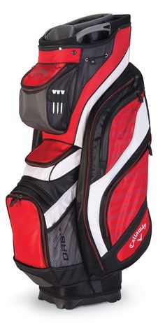 sporting goods: Callaway Golf 2016 Org 14 Cart Bag Red Black White New -> BUY IT NOW ONLY: $149 on eBay!