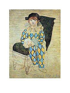 Pablo Picasso - The Artist's Son, 1924