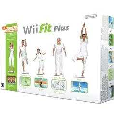 Wii Fit Plus with Balance Board Best Offer. Best price This Wii Fit Plus Bundle includes the game software and the Wii Balance Board. Wii Fit Plus with Balance Board Wii Fit Plus, Reduce Weight, How To Lose Weight Fast, Loose Weight, Do It Yourself Fashion, Wii Games, Balance Board, Get In Shape, Lose Belly Fat