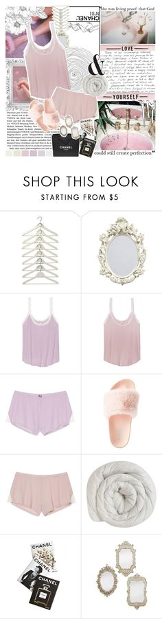 """""""Fancy Nights ♡"""" by lavieenrosegold ❤ liked on Polyvore featuring Victoria's Secret, Charlotte Russe, Old Navy, Assouline Publishing, Chanel, vintage, girly, fancy, ootn and glam"""