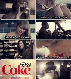 Diet come commercial that is my fav commercial right now duh cause it has ts in it!!