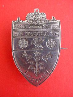 Nurses badge  Royal Southern Hospital Liverpool