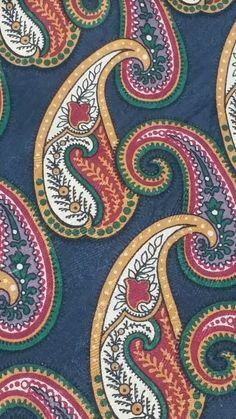 Abercrombie and Fitch floral paisley men's 100% silk necktie made in the USA in Clothing, Shoes & Accessories, Men's Accessories, Ties   eBay