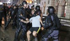 Galdino Saquarema Noticia: Bombas de gás no protesto contra as tarifas em SP