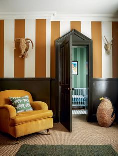 Sarah Corbett-Winder's home is a playful take on traditional grandeur