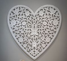 These gorgeous, eye-catching heart shaped wall panels are hand carved out of mango wood and are simply beautiful. Warm White Fairy Lights, Heart Wall Art, Oak Stain, Decorative Panels, Wooden Hearts, Wall Art Sets, Decoration, Decorative Accessories, Heart Shapes