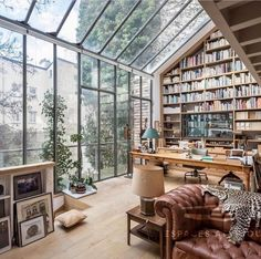 "Peppertree Living on Instagram: ""Amazing space🧡 @lifeanddecor #windows #homelibrary #homeoffice #books #interior #interiorinspiration #interiorstyle #homeofficedecor…"""