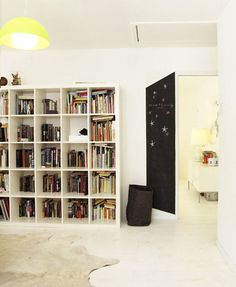 """""""The World's Most Popular Bookcase: Best Uses of the IKEA Expedit"""". (click to see the whole post)"""
