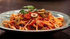 En lättfixad pastasås där du alltid kan ha ingredienserna på lut där hemma. Såsen är helt glutenfri.