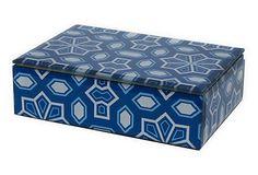 Patterned Glass Box on OneKingsLane.com