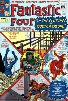 Part Two Of The Fabulous Fantastic Four Cover Gallery...