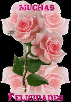 Gif de ramos de rosas para felicitar – todo en imágenes