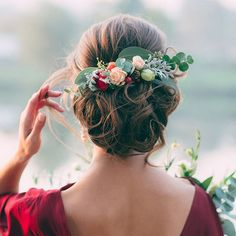 Floral palette for a winter wedding