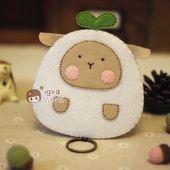 依格瓦 不织布材料包 布织布熊猫手工布艺diy材料包diy钱包钥匙包-淘宝网