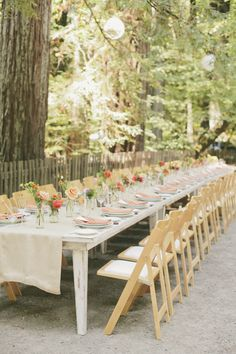 #tablescapes  Photography: onelove photography - onelove-photo.com  Read More: http://www.stylemepretty.com/2013/10/21/orange-themed-wedding-in-griffith-woods-from-onelove-photography/