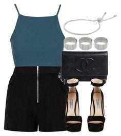 """Style #8409"" by vany-alvarado ❤ liked on Polyvore featuring mode, Topshop, Prada, Michael Kors en ASOS"