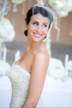 Bridal Makeup  www.CremeDeLaMAKEUP.com Style Me Pretty A&J Photography