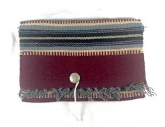 #Vintage #ElGrandee #Blanket #Purse #FredHarvey #Chimayo #Wool #Sterling #silver #concho #newmexico #newmexican